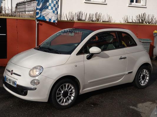 Fiat 500 500X tipo punto stilo doblo suv coupe sportive breack familiale luxe haut de gamme recent recente vo confort cuir interieur tissu equipement equipement interieur vitesse GPS jante alu italienne
