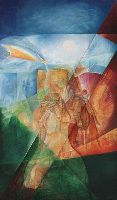 Jesus bekommt Hilfe von Simon v. Cyrene und Veronika