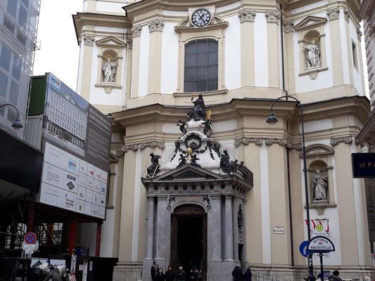 Portal Peterskirche Wien