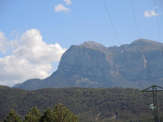 Schon die Anfahrt ins Valle de Pineta ist beeindruckend