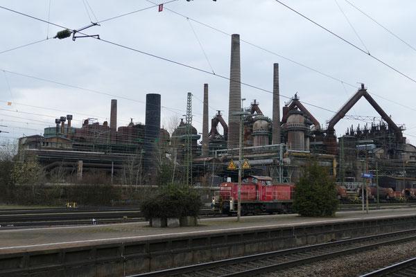 Noch ein letzter Blick beim Alten Bahnhof Völklingen