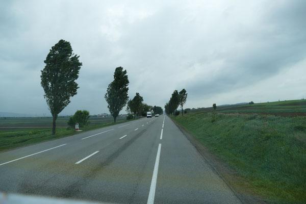 Hier die bessere Variante einer rumänischen Fernstraße