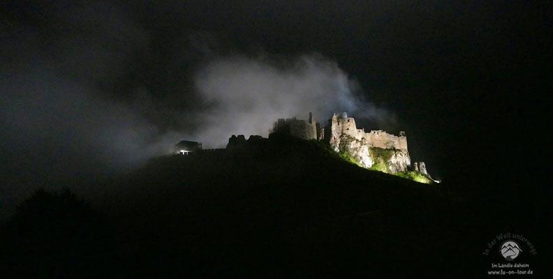Die Zipser Burg - unzweifelhaft ein Top-Ten-Ziel in der Slowakei