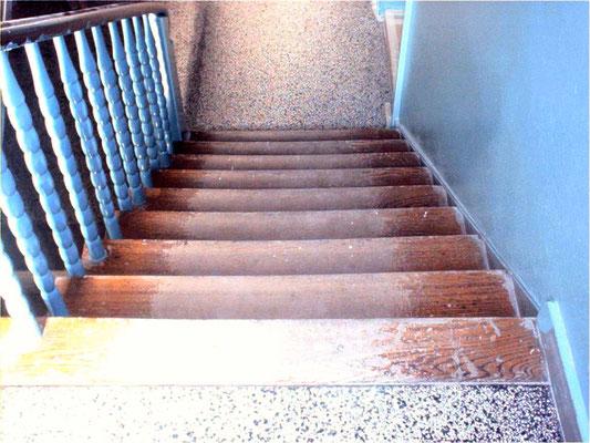 Treppen schleifen Münster