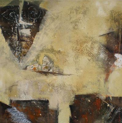 """Sandsturm""  60 x 60 cm,  2011"