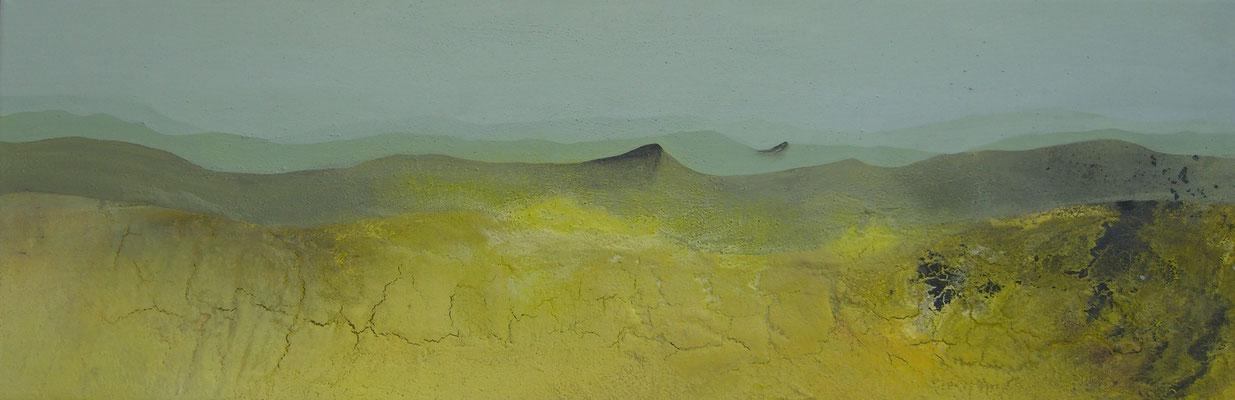 """""""gelbe Wüste""""  40 x 120 cm,  2006"""