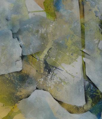 """Augenblicke""  60 x 50 cm, 2009"