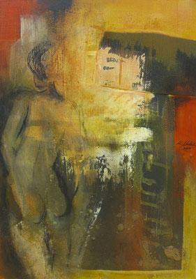 """Mam(afrika)""  70 x 50 cm,  2009"