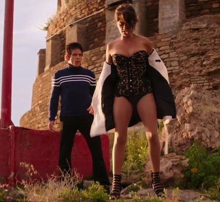 "Pull confezionato per Ben Stiller, film ""Zoolander 2"", costumi di Leesa Evans"