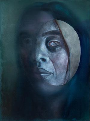 Portrait (120 x 90 cm, oil on canvas, 2018)