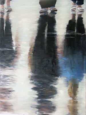 It's going on ... (120 x 160 cm, oil on canvas, 2007) – sold