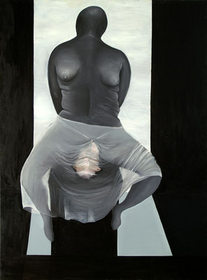 Intuition (160 x 120 cm, oil on canvas, 2004)