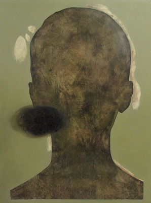 Seen by others 2 (160 x 120 cm, oil on canvas, 2008) – sold