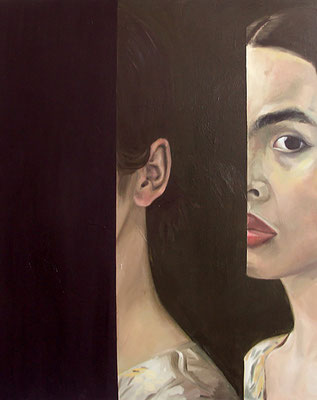 Coming and going (oil on canvas, 2007) – sold
