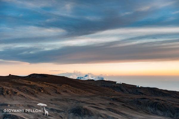 Sunrise on Uhuru Peak (5'895 m)