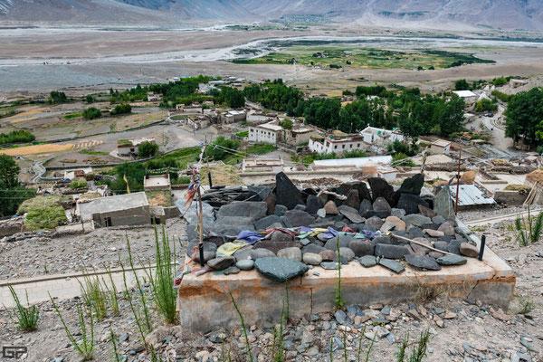 Zanskar - Karsha village