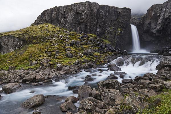 Waterfall on F-road 939
