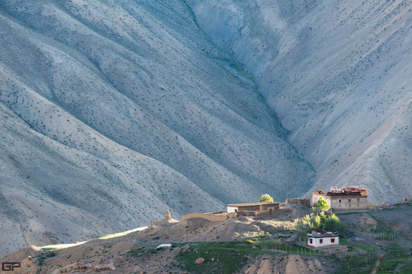Zanskar - Lingshed village