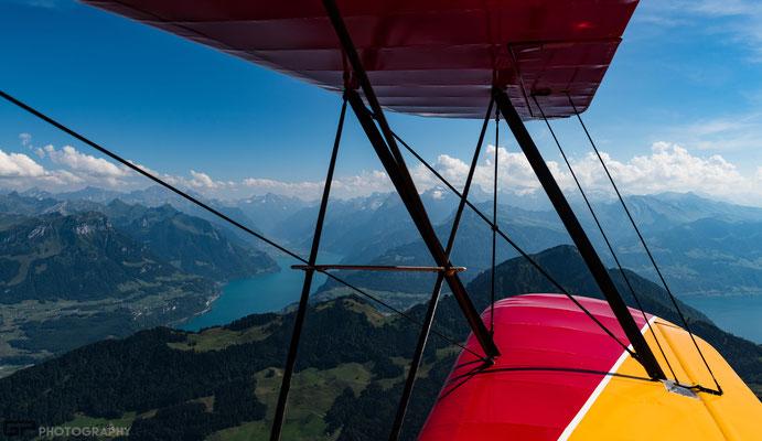 Alps and Lake Lucerne / Alpen am Vierwaldstättersee