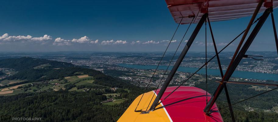 Albis and Lake Zurich / Albiskette und Zürichsee