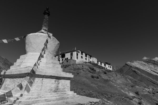 Zanskar - Gompa in the monastery of Rangdum