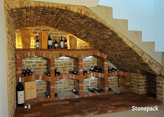 Echte Ziegel Weinkeller von Fa. Stonepack / Kärnten