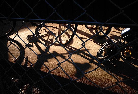 追憶の自転車置き場