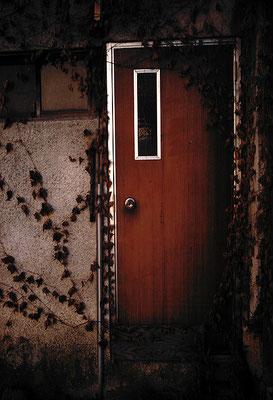 開かないドア