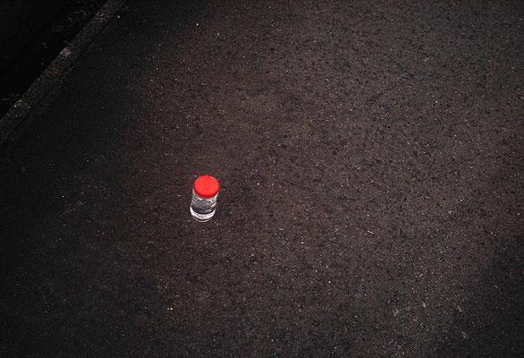 焼酎小瓶落ちてたよ