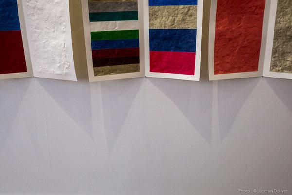 Un détail, sur le travail de Jacques HAYOTTE, à la Galerie Hasy.