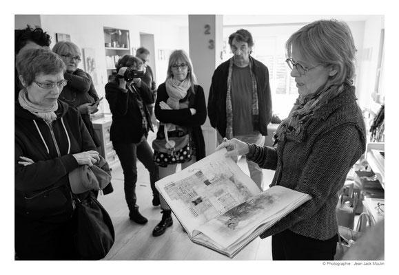 ©JJM-DSCF3098R-Marthe Souris, Françoise Lehay Brangoleau, SyEym, Frédéric Magnin et Veronïk Beaucé.