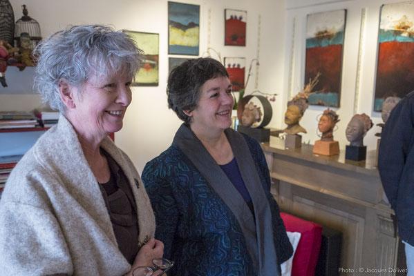 Doreen LE MARINEL et W. BELUGUE.
