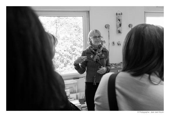 ©JJM-DSCF3082R-Veronïk Beaucé, dans son atelier.