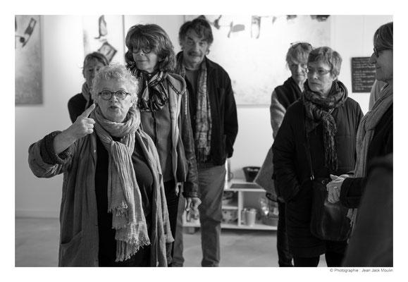 ©JJM-DSCF2839R-Michèle Riesenmey, Christel Bruneel, Frédéric Magnin, Doreen Le Marinel, Marthe Souris et Marie-Jo Le Paih.