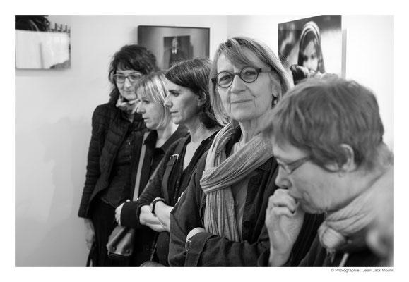 ©JJM-DSCF3183R-Viviane Brénot, Véronique Spenlé, Nathalie Koechlin, Marie-Jo Le Paih, et Marthe Souris.