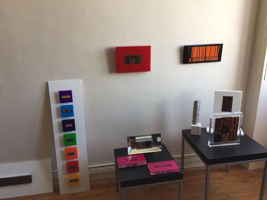 L'atelier de Virginie Steel, invitée de Viviane Brenot.