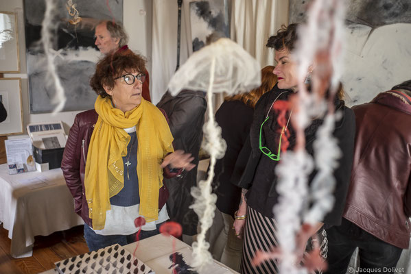 ©JD-L1009648-Danielle Péan Le Roux, l'invitée de Michèle Riesenmey.
