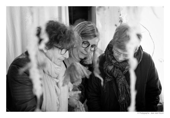 ©JJM-DSCF2854R-Danielle Péan Le Roux, Hélène Benzacar et Marthe Souris.