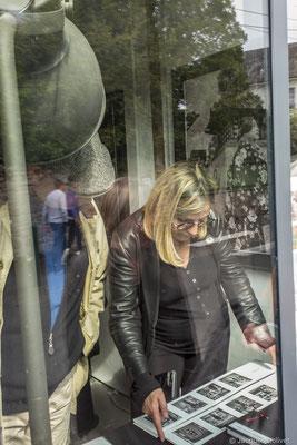 ©JD-L1009709.jpg-Hélène Benzacar, à l'atelier de Nathalie Koechlin.