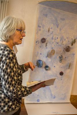 Françoise LEHAY BRANGOLEAU présente son travail.