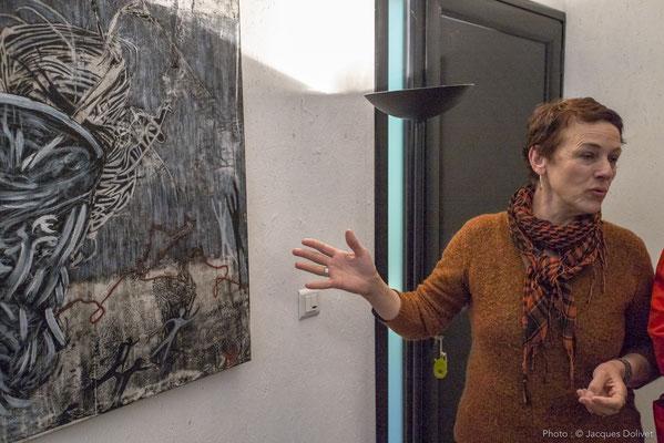 Chantal THERNISIEN, présente son travail.