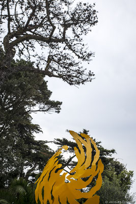 ©JD-L1009791-Sculpture de Bruno Guihéneuf, l'invité de Brigitte Garcia.