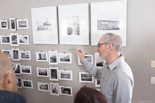 Jacques DOLIVET présente ses photographies.