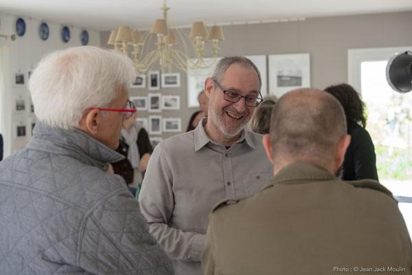 Jacques DOLIVET, avec Jacques HAYOTTE et Thierry MERRÉ.