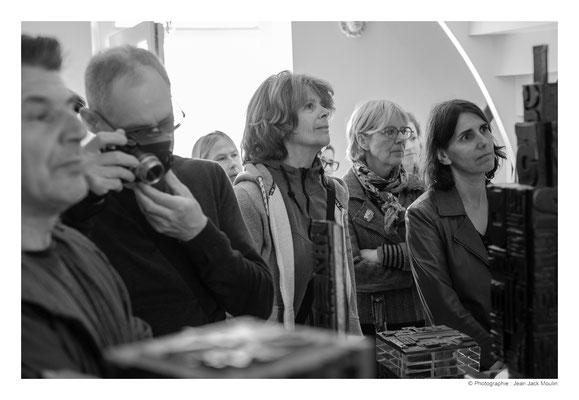 ©JJM-DSCF2912R-Jean-Pierre Ménard, Jacques Dolivet, Christel Bruneel, Véronïk Beaucé et Nathalie Koechlin.