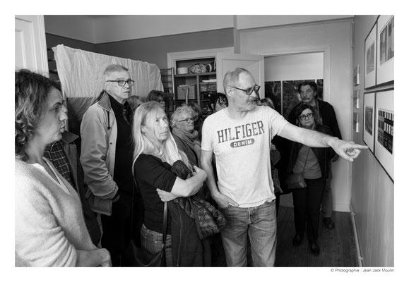 ©JJM-DSCF3023R-Marielle Lefeuvre, Marc Tassel, Carole Became, Michèle Riesenmey, Jacques Dolivet (l'invité de Viviane Brénot), Brigitte Garcia et Frédéric Magnin.