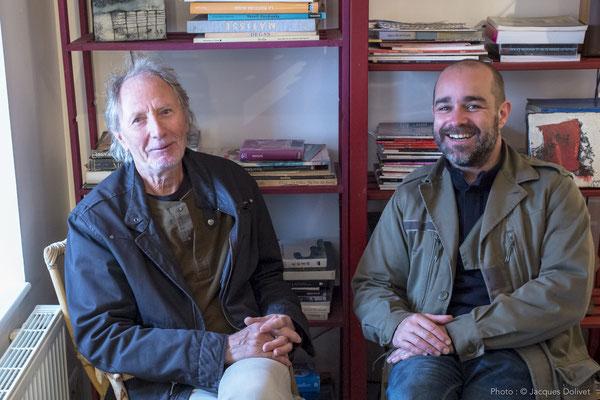 Jacques CORNET et Thierry MERRÉ.