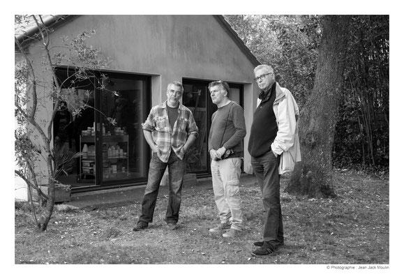 ©JJM-DSCF2941R-Bruno Guihéneuf, Jean-Pierre Ménard et Marc Tassel.