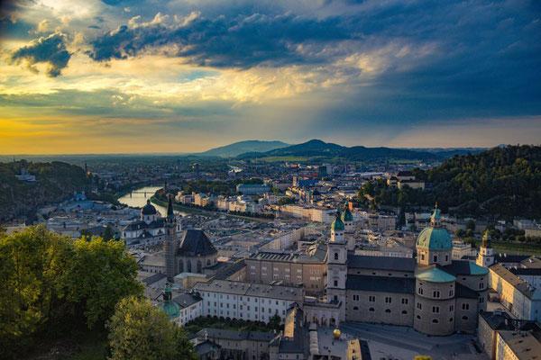 Salzburg, Österreich, Panorama