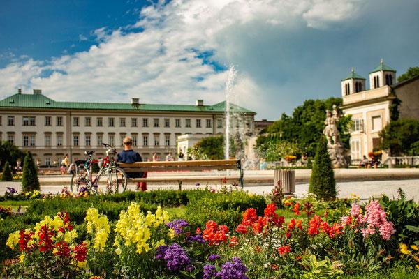 Salzburg, Österreich, Schloss Mirabell